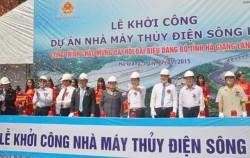 Khởi công dự án thủy điện Sông Lô 6