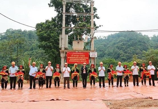 Xóm bản cuối cùng của Thái Nguyên có điện lưới quốc gia