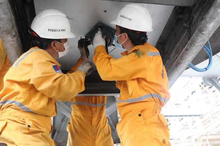 Hoàn thành vượt tiến độ bảo dưỡng sửa chữa hệ thống khí PM3 - Cà Mau