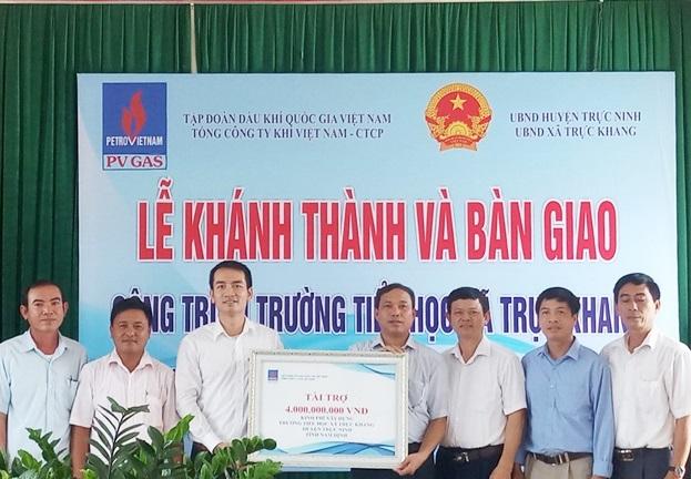 Khánh thành trường tiểu học tại Nam Định do PV GAS tài trợ
