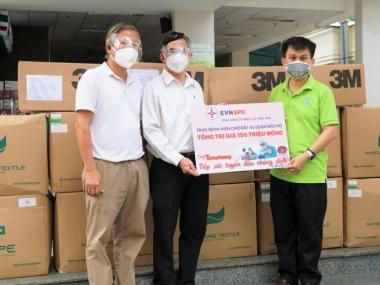 EVNSPC đồng hành cùng chương trình 'Cùng Tiền Phong tiếp sức tuyến đầu chống dịch'