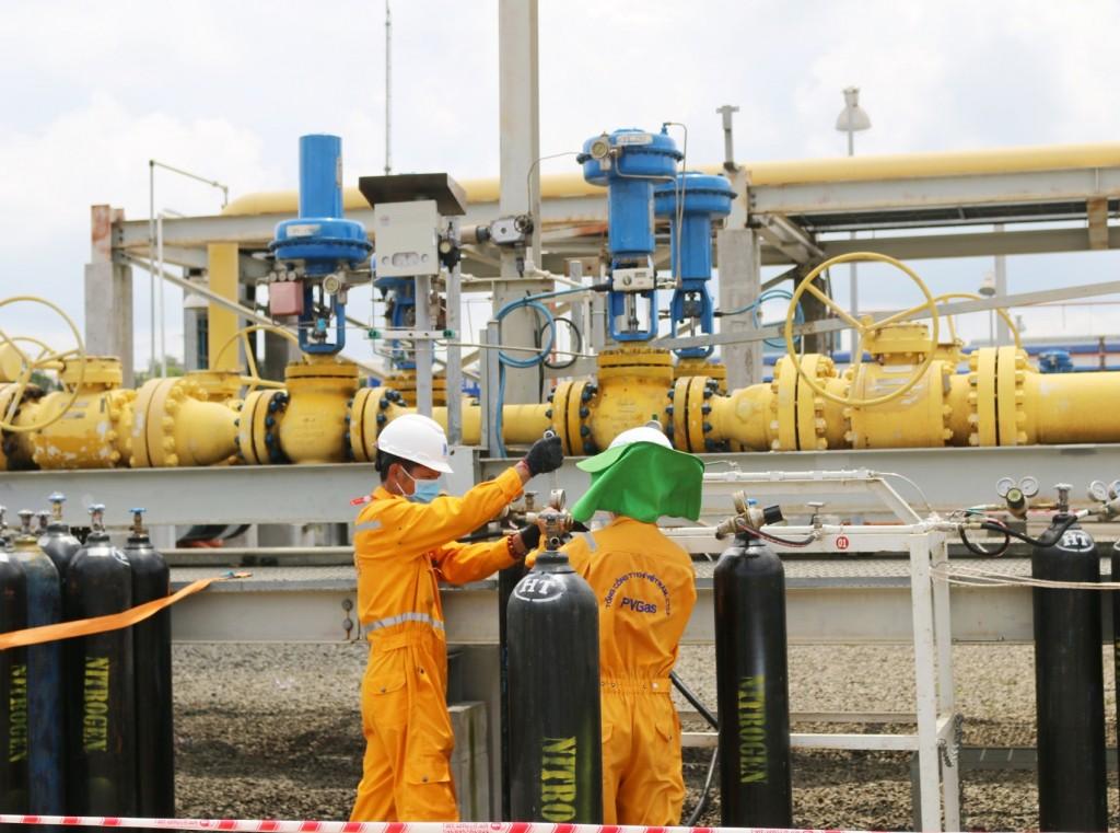 Hoàn thành vượt tiến độ bảo dưỡng lớn Hệ thống đường ống khí Nam Côn Sơn 1