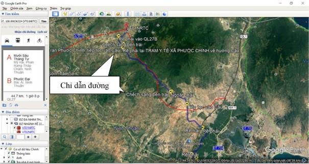 Ứng dụng phần mềm 'Google Earth Pro' tại Truyền tải điện Ninh Thuận