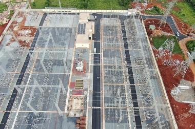 Hoàn thành toàn bộ công trình Trạm biến áp 220 kV Lao Bảo