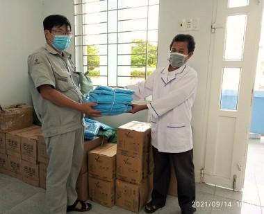 Công ty ĐHĐ hỗ trợ vật tư y tế phòng, chống dịch Covid-19