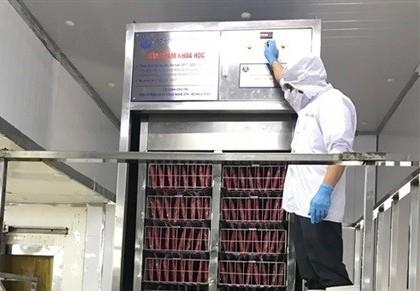 Cấp đông siêu tốc bằng chất tải lạnh lỏng giúp tiết kiệm năng lượng