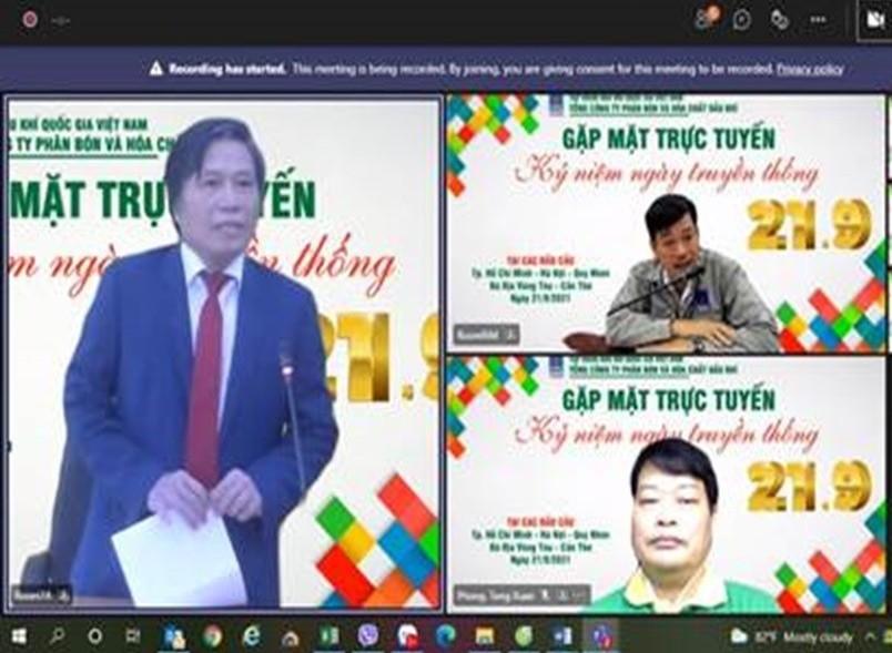 PVFCCo tổ chức gặp mặt trực tuyến nhân Ngày truyền thống
