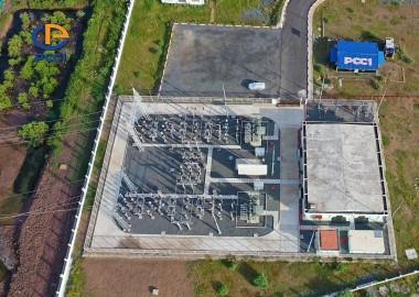 Đóng điện TBA 110 kV và đường dây đấu nối dự án điện gió Hàn Quốc-Trà Vinh V1.1