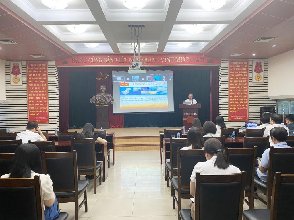 Đảng bộ Quacontrol 'đẩy mạnh học tập và làm theo tư tưởng, đạo đức, phong cách Hồ Chí Minh'
