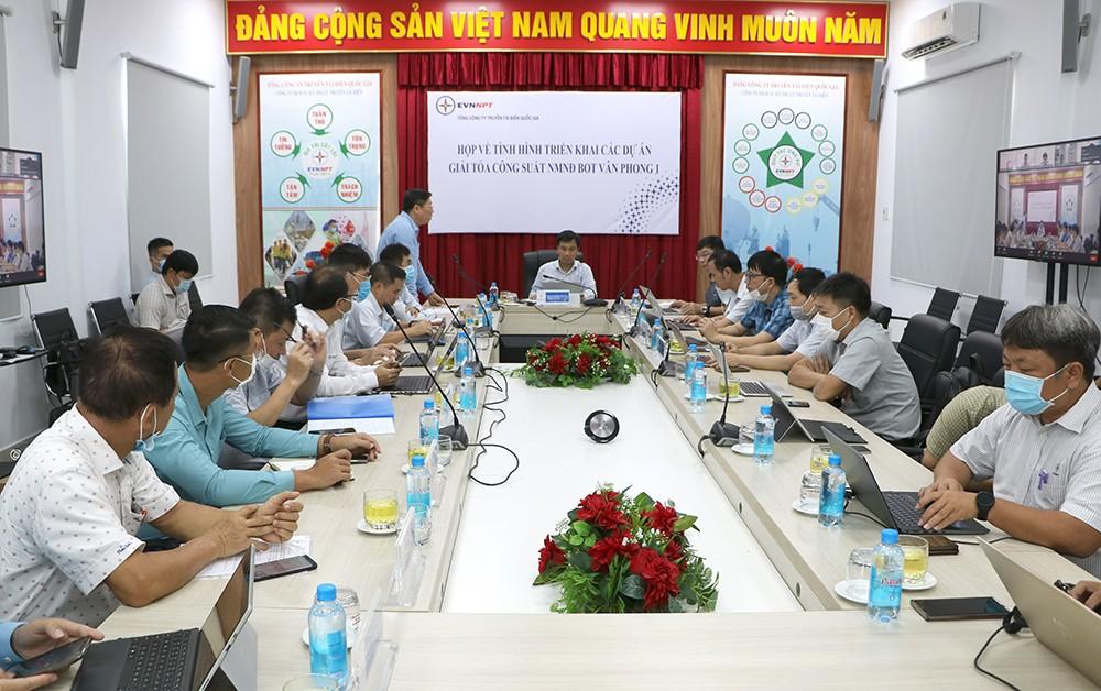 Tập trung nguồn lực cho các dự án giải tỏa công suất Nhiệt điện Vân Phong 1