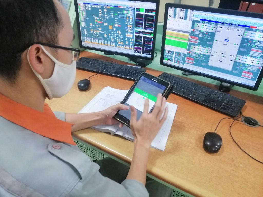 Hiệu quả từ áp dụng nhật ký vận hành điện tử tại Nhiệt điện Mông Dương
