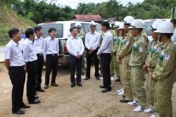 Chủ tịch NPT làm việc với Truyền tải điện Quảng Nam