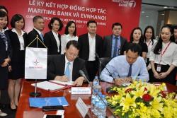 Maritime Bank triển khai dịch vụ thu hộ tiền điện cho EVN HANOI