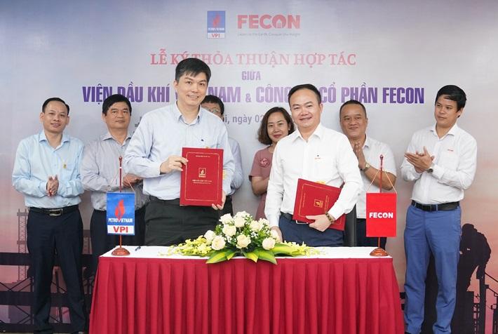 VPI và FECON hợp tác nghiên cứu, phát triển các dự án hạ tầng năng lượng