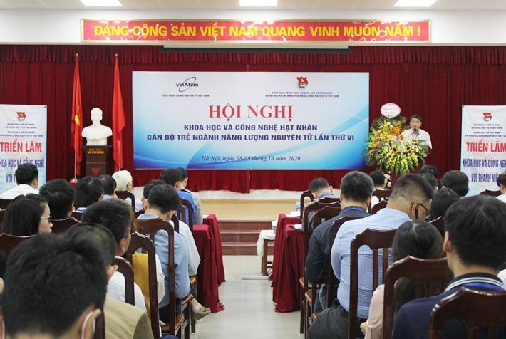 Hội nghị KHCN hạt nhân cán bộ  trẻ ngành năng lượng nguyên tử (lần thứ VI)