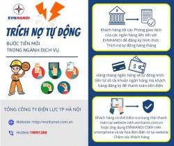 Hà Nội: Trên 99% khách hàng thanh toán tiền điện không dùng tiền mặt
