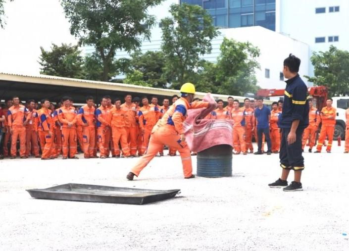 EVNNPC chú trọng thực hiện an toàn phòng cháy trong sản xuất, kinh doanh
