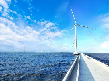 Đóng điện 3 nhà máy điện gió đầu tiên tại tỉnh Sóc Trăng