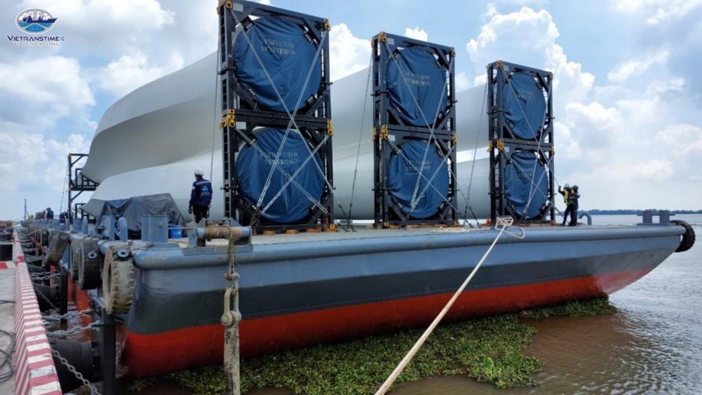 Nhà thầu vận chuyển, xây lắp cùng chủ đầu tư điện gió chạy đua tiến độ giá FIT