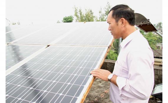 Hiệu quả từ mô hình sử dụng năng lượng xanh tại Thái Bình