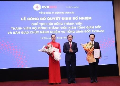 Công bố Quyết định bổ nhiệm Chủ tịch HĐTV và Thành viên HĐTV kiêm Tổng Giám đốc EVNNPC