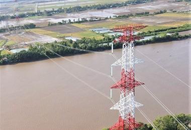 Hoàn thành ĐD 220 kV đấu nối Vĩnh Châu - rẽ Long Phú - Sóc Trăng