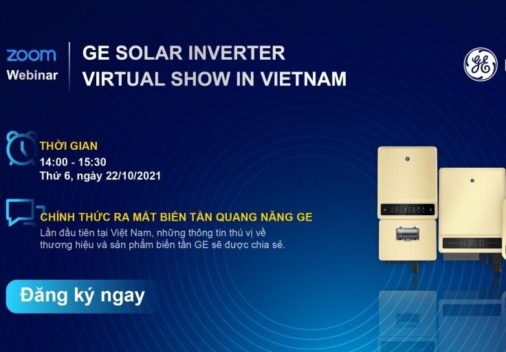 Biến tần năng lượng mặt trời GE sẽ có mặt tại thị trường Việt Nam
