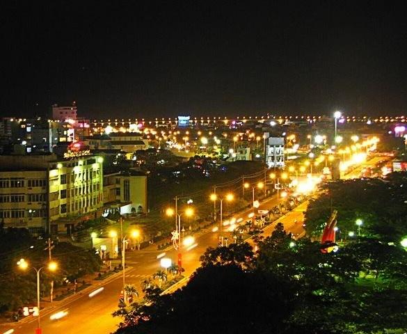 Quy Nhơn tiết kiệm điện từ hệ thống chiếu sáng đường phố