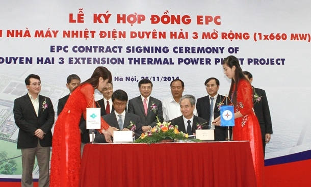 Signing EPC Contract for Duyen Hai 3 Power Thermal Plant Extension Project