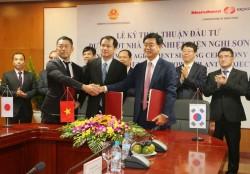 Ký thỏa thuận đầu tư dự án BOT nhiệt điện Nghi Sơn 2