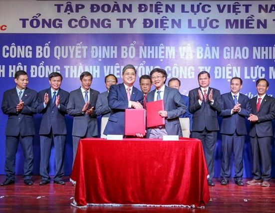 Công bố quyết định và bàn giao nhiệm vụ Chủ tịch HĐTV EVNCPC