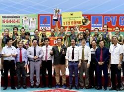 Kết thúc Giải bóng chuyền quốc gia PV Gas 2017
