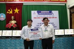 EVNNPT tặng 20 bộ máy tính cho các trường học tại huyện đảo Lý Sơn