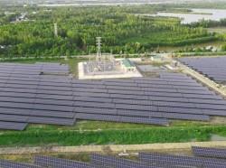 Nhà máy điện mặt trời Hậu Giang vận hành thương mại