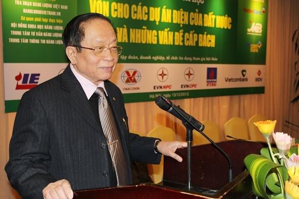 Diễn văn khai mạc Hội thảo của Chủ tịch Hiệp hội Năng lượng Việt Nam