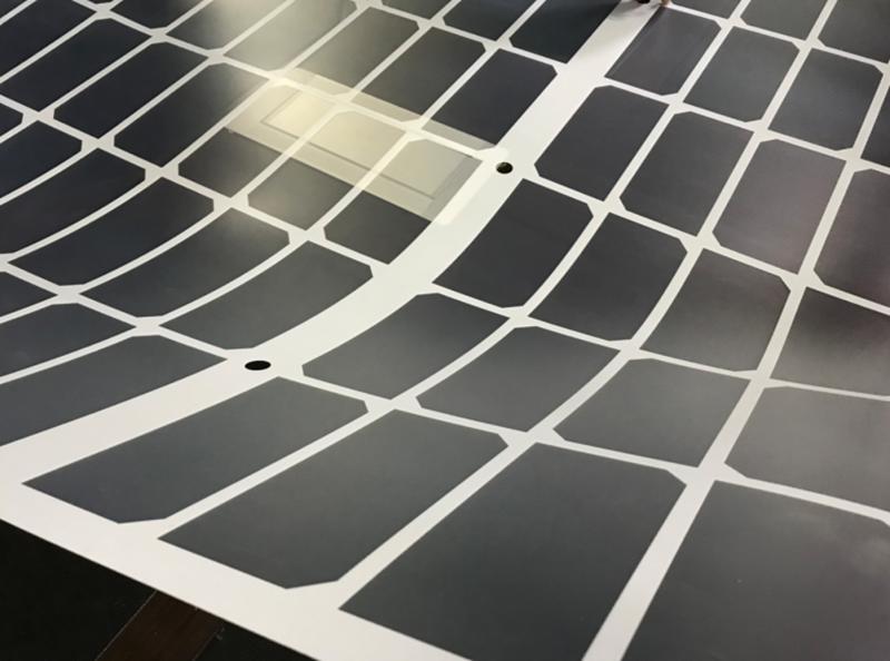 Điện mặt trời Trung Quốc (Bài học thứ năm): Bền, nhẹ, mỏng