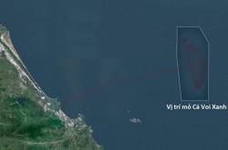 Cập nhật tiến độ Chuỗi dự án mỏ khí Cá Voi Xanh và Lô B