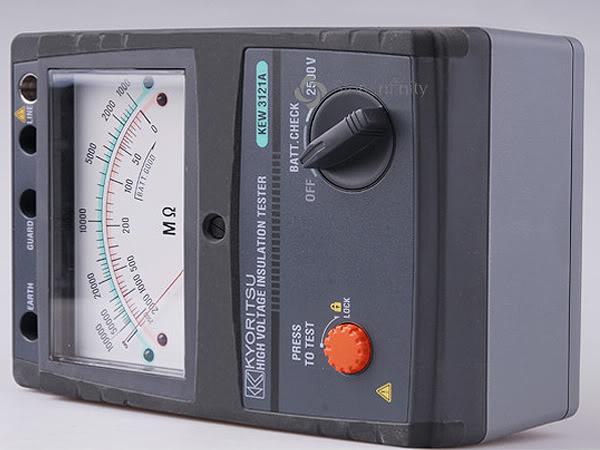 Một số kinh nghiệm đo cách điện máy biến áp