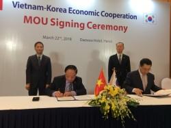 VEA và KNREA ký kết hợp tác về năng lượng tái tạo