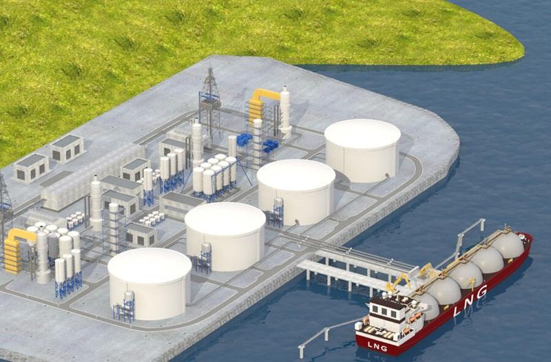 Bổ sung 1 bến nhập khí cho Trung tâm Điện lực LNG giai đoạn 1