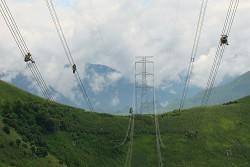 """Đường dây siêu cao áp 500kV: """"Đường điện Trường Sơn"""""""