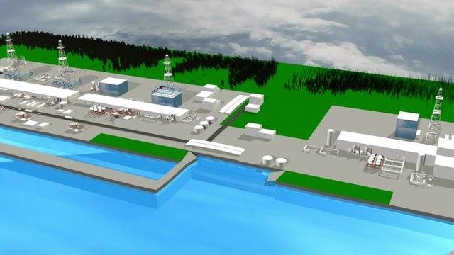 Nhật Bản xây tường băng ngăn rò rỉ phóng xạ ở Fukushima