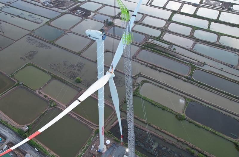Hơn 30% công suất nguồn điện gió không kịp vận hành thương mại trước 31/10/2021?