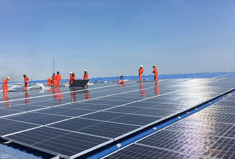 Sáu tháng đầu năm EVN huy động 14,69 tỷ kWh từ năng lượng tái tạo