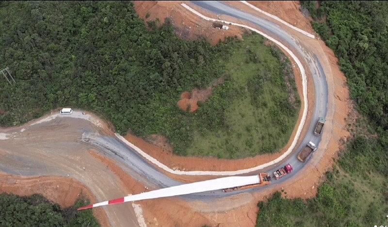 Cục Đường bộ 'kiến tạo' cho các dự án điện gió tại Quảng Bình, Quảng Trị