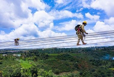 Tình trạng vận hành đường dây truyền tải điện Việt Nam hiện nay