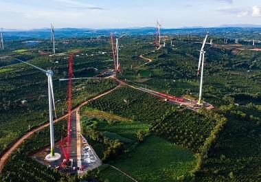 Cập nhật tình hình công nhận COD các nhà máy điện gió ở Việt Nam