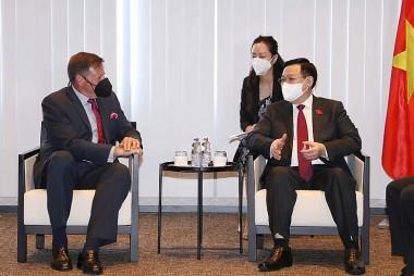Chủ tịch Quốc hội đề nghị Exxon và PVN 'duy trì tiến độ' mỏ khí Cá Voi Xanh