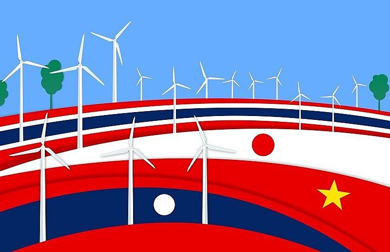 Công ty Năng lượng Thái Lan và EVN ký thỏa thuận mua bán điện gió từ Lào về Việt Nam