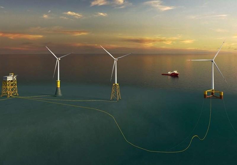Nhà thầu Việt Nam tham gia dự án điện gió ngoài khơi ở eo biển Đài Loan